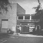 chive Image - Rear of Compass Theatre in the 60s