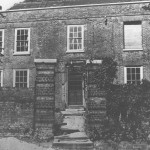 Front of Ickenham Hall as seen during restoration