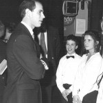 HRH Prince Edward opening Compass Completion 1990