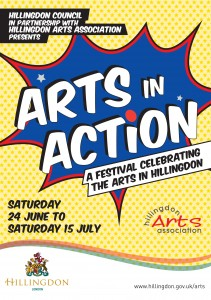 Arts in Action 2017 Brochure cover