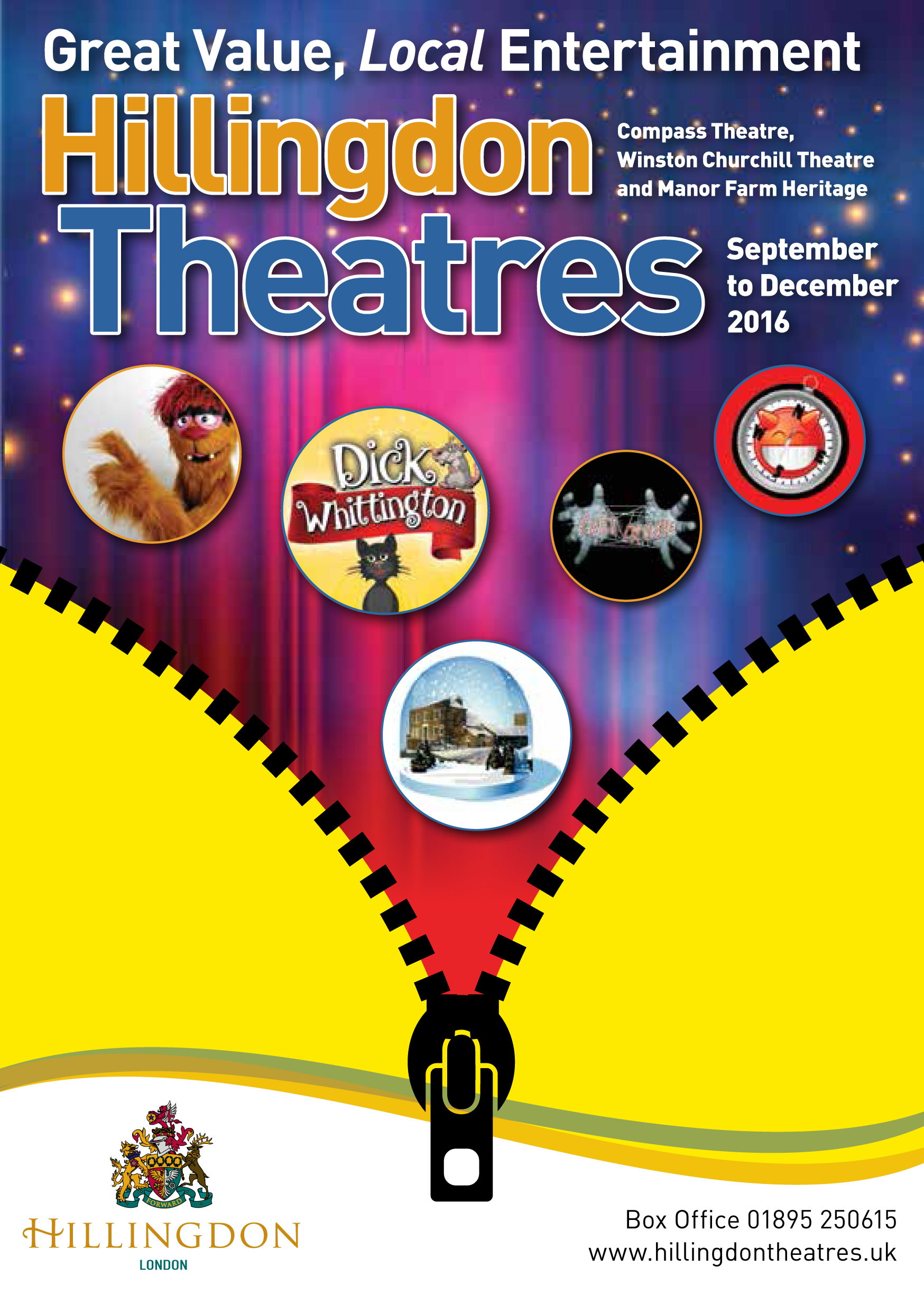 Hillingdon Theatres Sept-Dec 2016