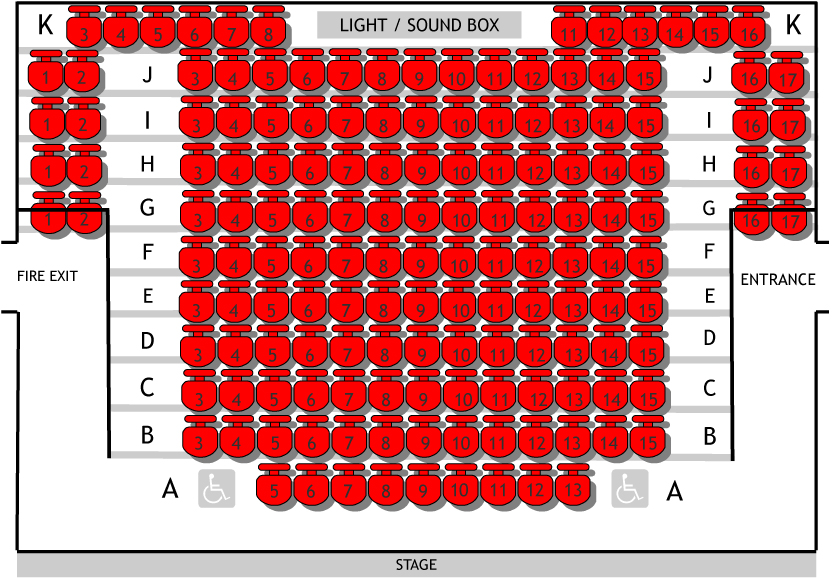 Seat Plan Compass Theatre JPEG