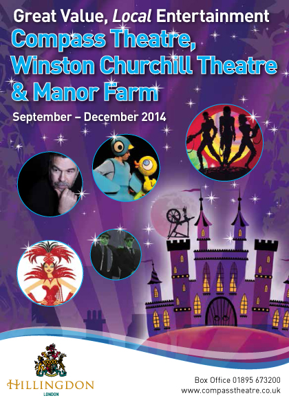 Hillingdon Theatres Sep-Dec 2014 web cover