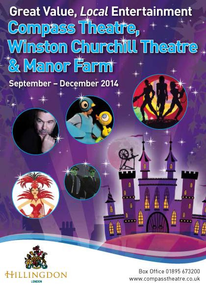 Hillingdon Theatres Sep-Dec 2014 web cover