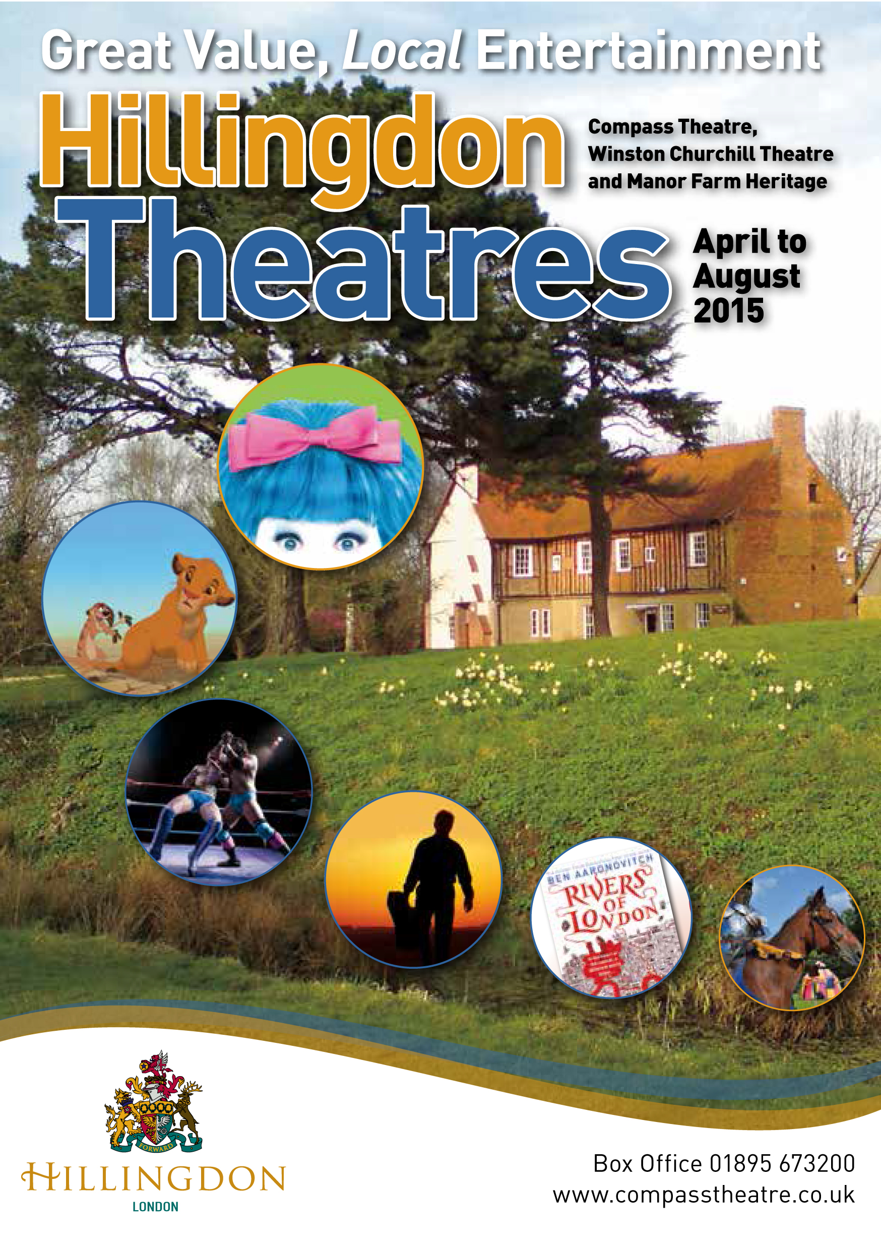 Hillingdon Theatres Apr to Aug 2015