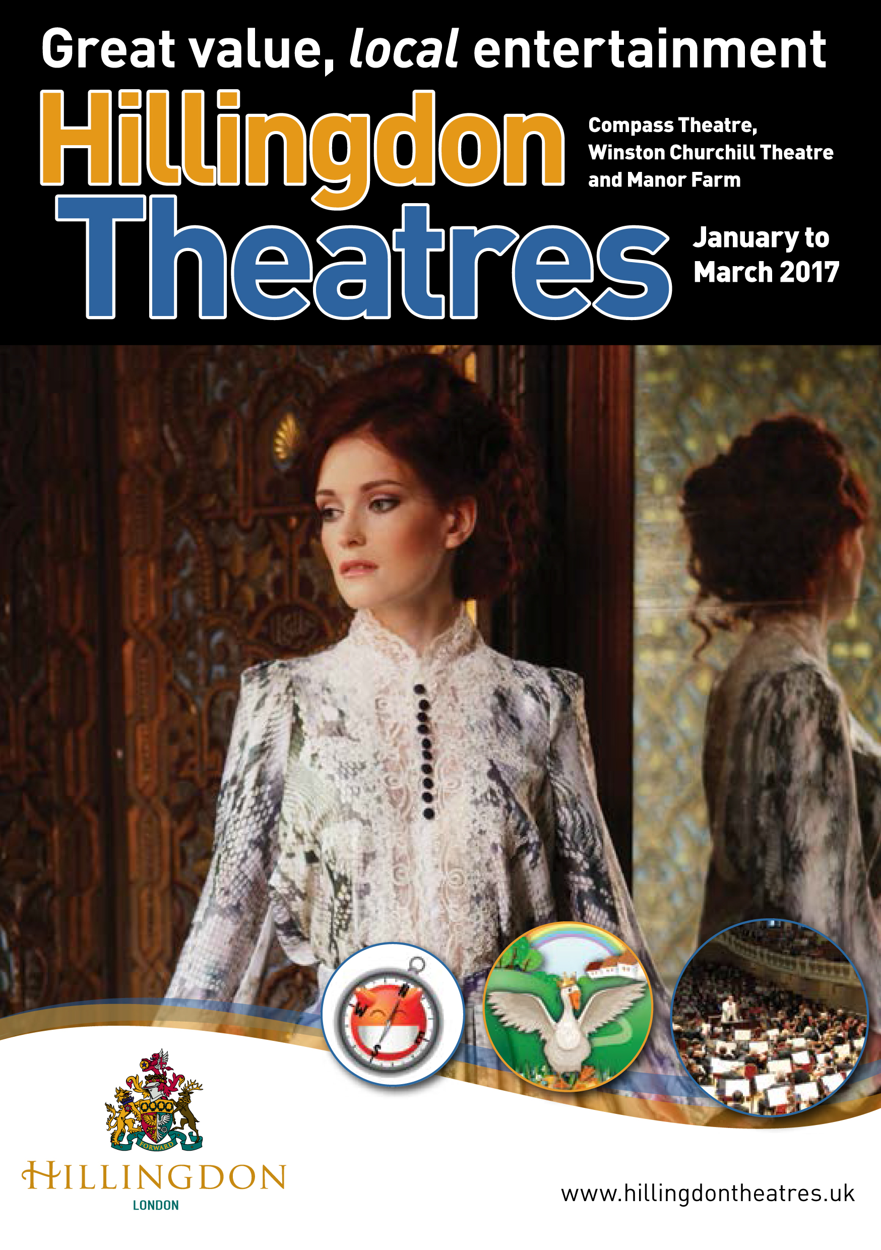 Hillingdon Theatres Season Programme Jan to Mar 2017 web COVER