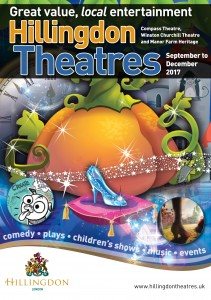 Hillingdon theatres A5 programme Sep-Dec 2017 COVER