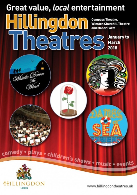 Hillingdon Theatres January to March 2018