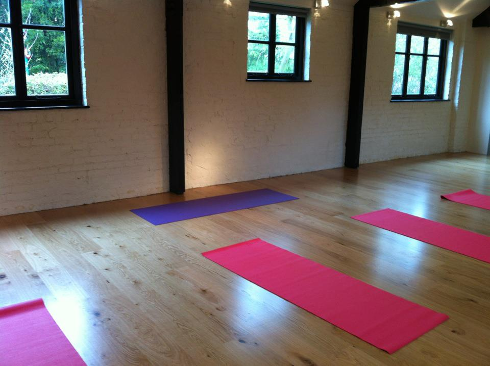 Hatha Yoga Classes in the Stables