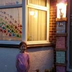 Liza Grinstead - daughter and door