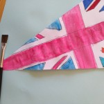 Making Bunting for VE Day Anniversary