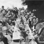 My Family in Harlington - Brick Lane VE Day