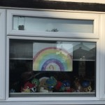 Rainbows and Windows seen on run 9