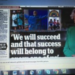 Report in Daily Mail - Queen Addresses the Nation 5 April 2020