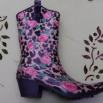 My festival wellies
