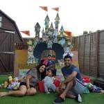 Bhavika and the Disney castle