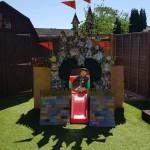 Our garden model of the Disney castle