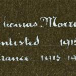 Thomas Morris detail