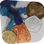 My handball medals