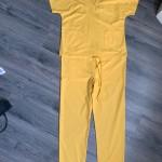 scrubs - yellow