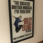 Theatre poster from Billy Elliot the Musical