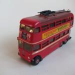 Kit-built model of the route 607 trolleybus