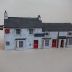 Handmade model of The Shovel pub, Cowley
