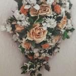 Kathleen's wedding bouquet