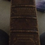 TIM George 1 book spine Chambers Eng Dic