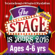The Stage Is Yours 2016: ages 4 to 6
