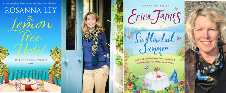 Summer Reads: Erica James and Rosanna Ley